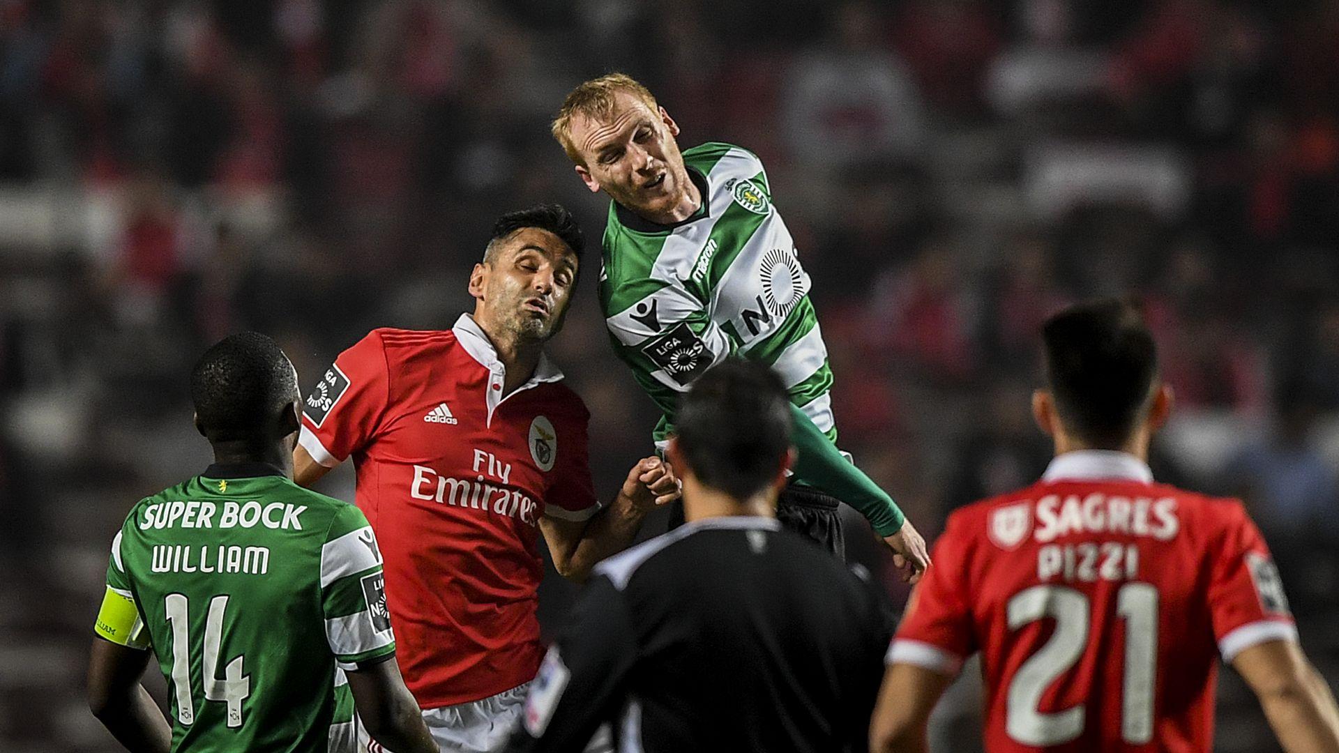Jeremy Mathieu Jonas Benfica Sporting Lisboa Primeira Liga 03012018