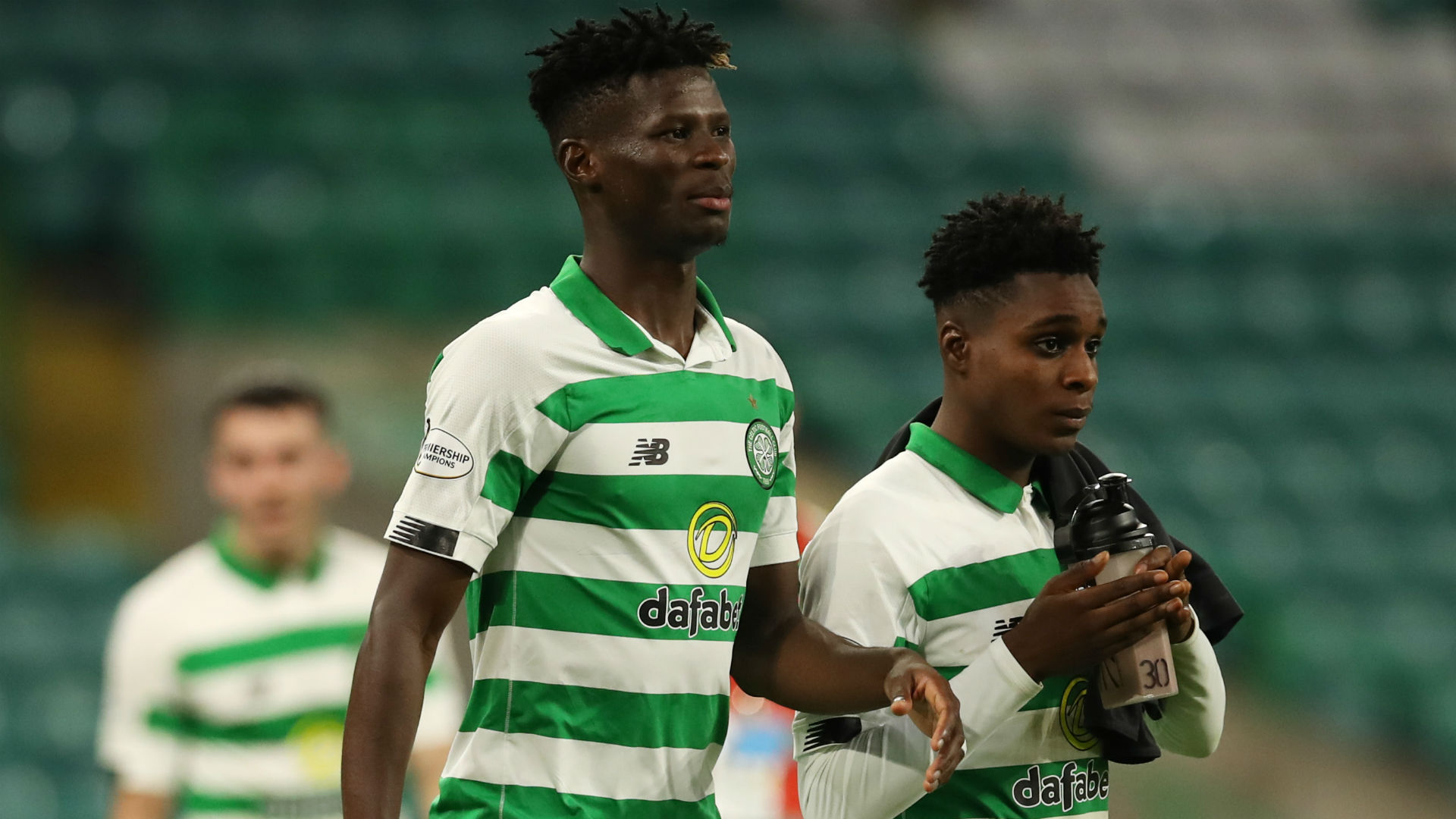 Celtic striker Bayo inspired by Edoaurd's progress