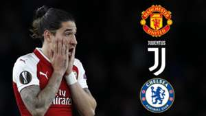 Hector Bellerin, Man Utd, Juve, Chelsea