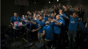 Iceland celebration World Cup