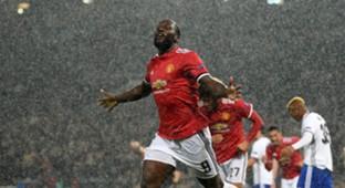 Romelu Lukaku Manchester United Basel