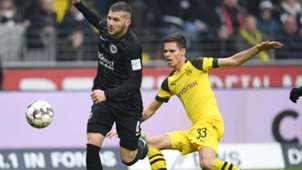 Eintracht Frankfurt Rebic Borussia Dortmund Weigl 0219