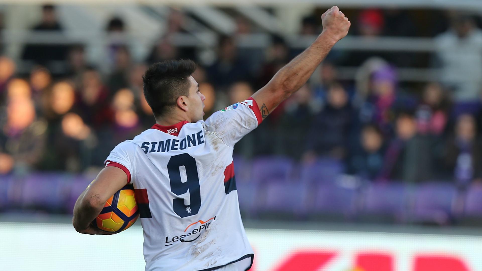 Terza Maglia Fiorentina GIOVANNI SIMEONE