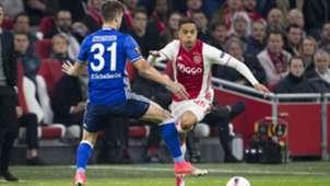 Justin Kluivert, Ajax - Schalke 04, 13042017