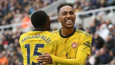 Pierre Aubameyang Arsenal Newcastle 08112019