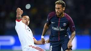 Neymar Thiago Alcantara PSG Bayern UEFA Champions League 27092017