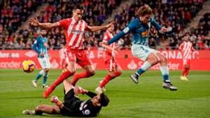 Antoine Griezmann Yassine Bounou Bernardo Espinosa Girona Atletico de Madrid LaLiga 02122018