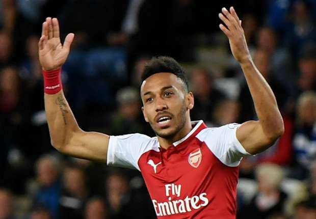 f445c499a Aubameyang   Bellerin show off new Arsenal away shirt - Goal.com
