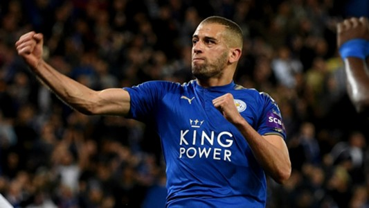 Islam Slimani Leicester City