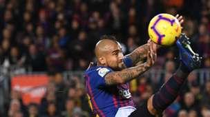 Arturo Vidal Barcelona Villarreal 18-19
