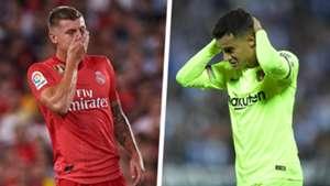 Toni Kroos Philippe Coutinho Real Madrid Barcelona
