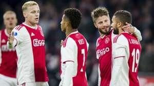 Ajax - Go Ahead Eagles KNVB Beker 10312018