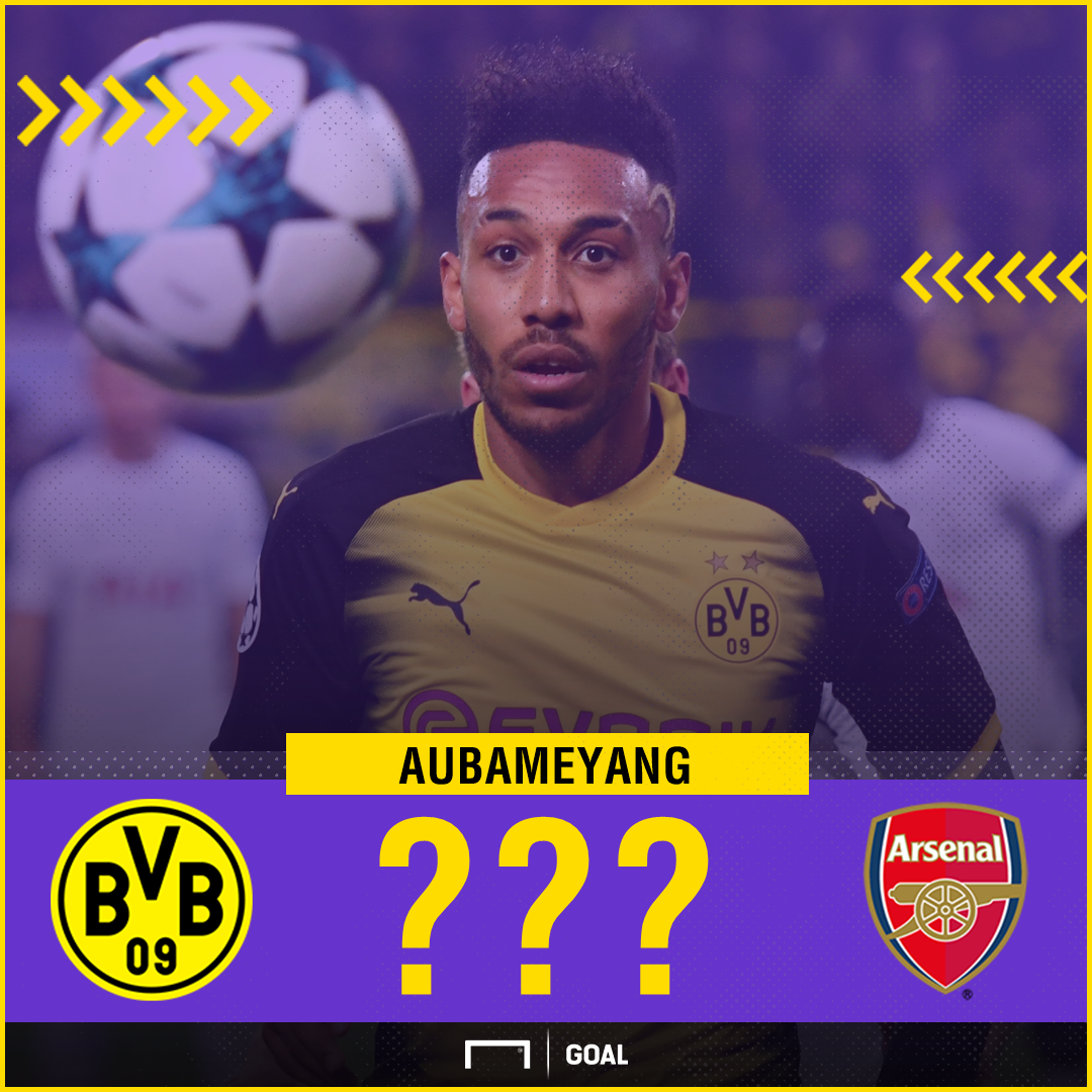 Pierre-Emerick Aubameyang to Arsenal