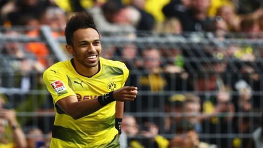 Aubameyang of Borussia Dortmund