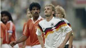 Frank Rijkaard Rudi Voller Netherlands West Germany 1990 World Cup