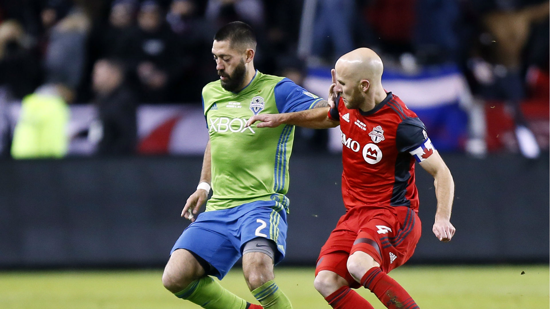 Clint Dempsey Michael Bradley Toronto FC Seattle Sounders MLS Cup