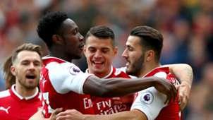 Danny Welbeck Sead Kolasinac Arsenal Bournemouth