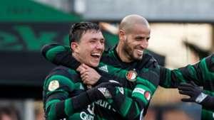 Steven Berghuis, PEC Zwolle - Feyenoord, Eredivisie 03182028