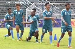 Mohun Bagan players in training