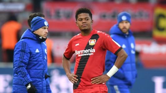 Leon Bailey Bayer Leverkusen Schalke 25022018
