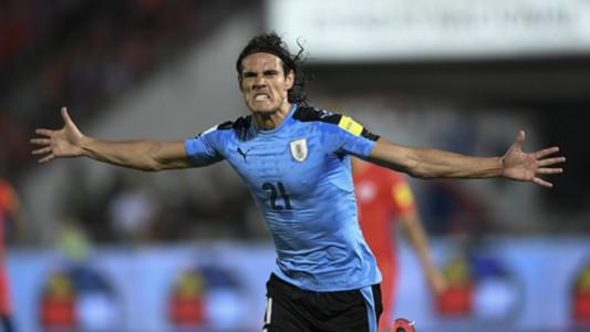 Edinson Cavani Uruguay 2016/11/16