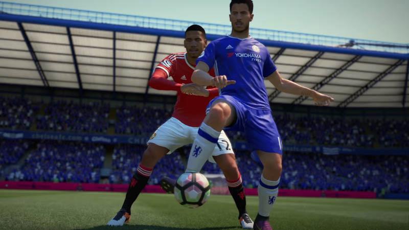 FIFA 18 shielding