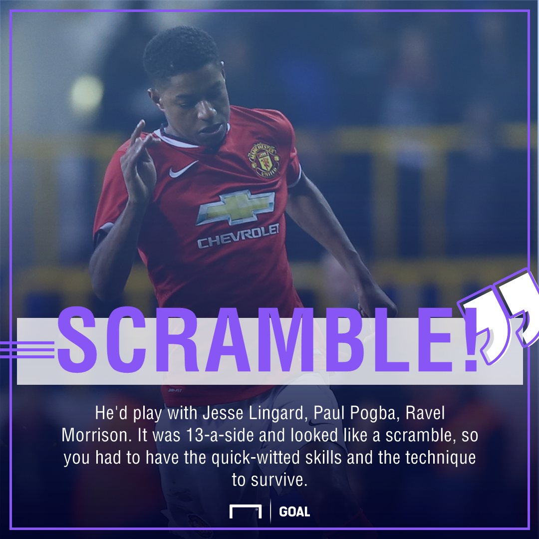 Marcus Rashford Manchester United quote