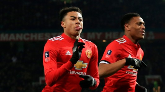 Jesse Lingard Manchester United Derby