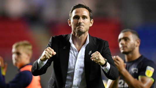 Frank Lampard Derby County Reading Championship