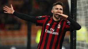 Fabio Borini Milan Ludogorets UEFA Europa League 02222018