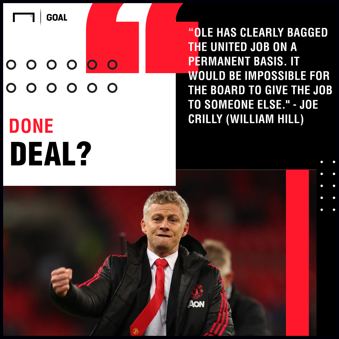 Solskjaer Done Deal Manchester United Graphic