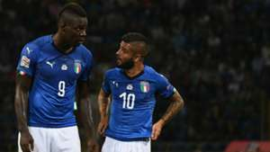 Mario Balotelli Lorenzo Insigne Italy Poland Nations League