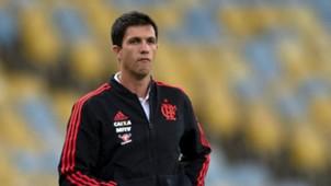 Mauricio Barbieri Flamengo Santa Fe 18042018 Copa Libertadores