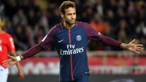 Neymar Monaco PSG Ligue 1 26112017