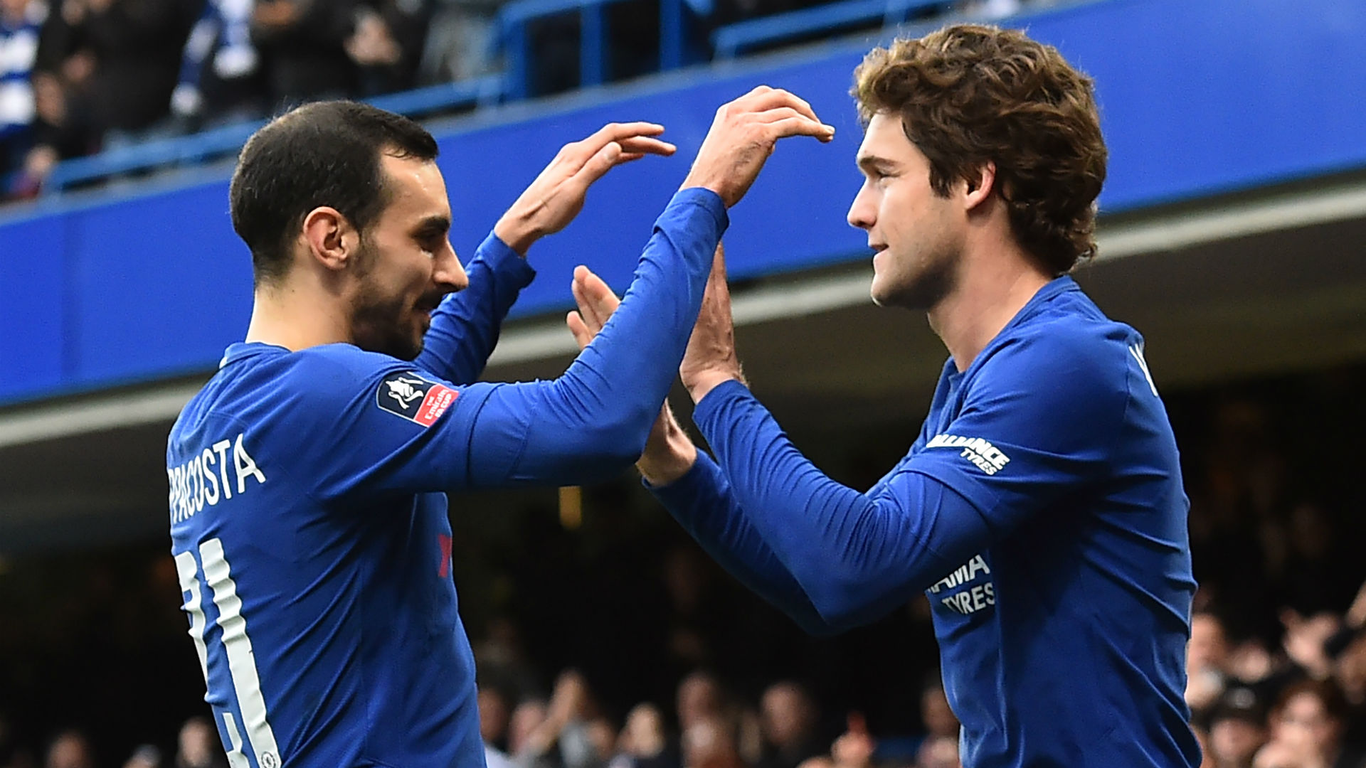 David Zappacosta Marcos Alonso Chelsea