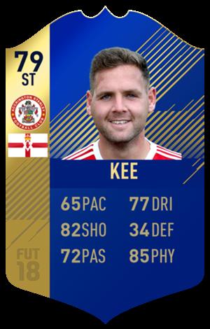 FIFA 18 EFL Team of the Season Kee