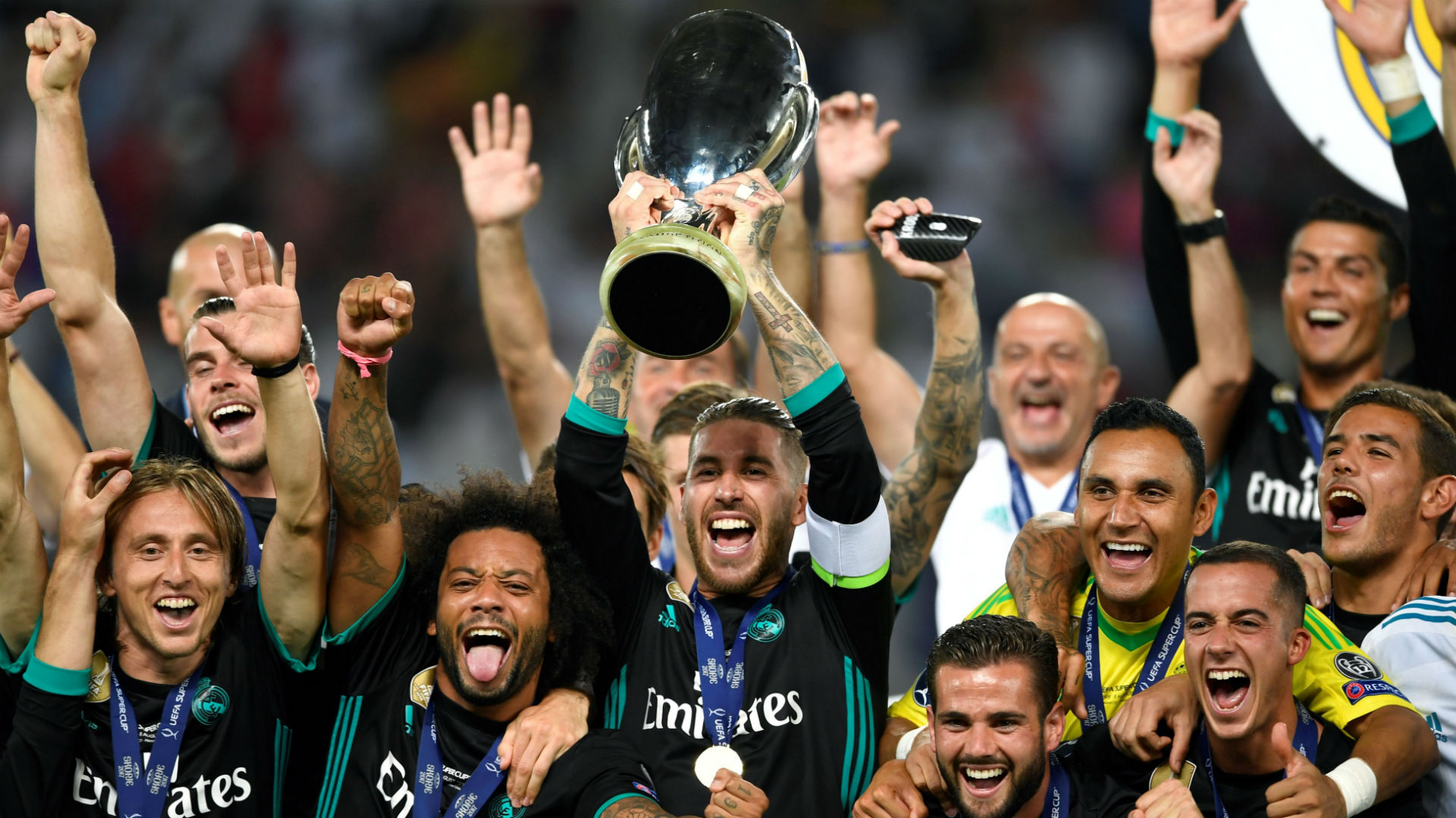 Real Madrid UEFA Super Cup 2018