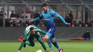 Ramsey Milan Arsenal
