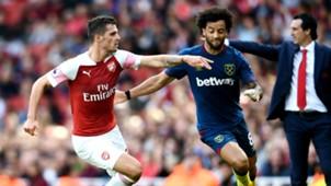 Granit Xhaka Arsenal 2018-19