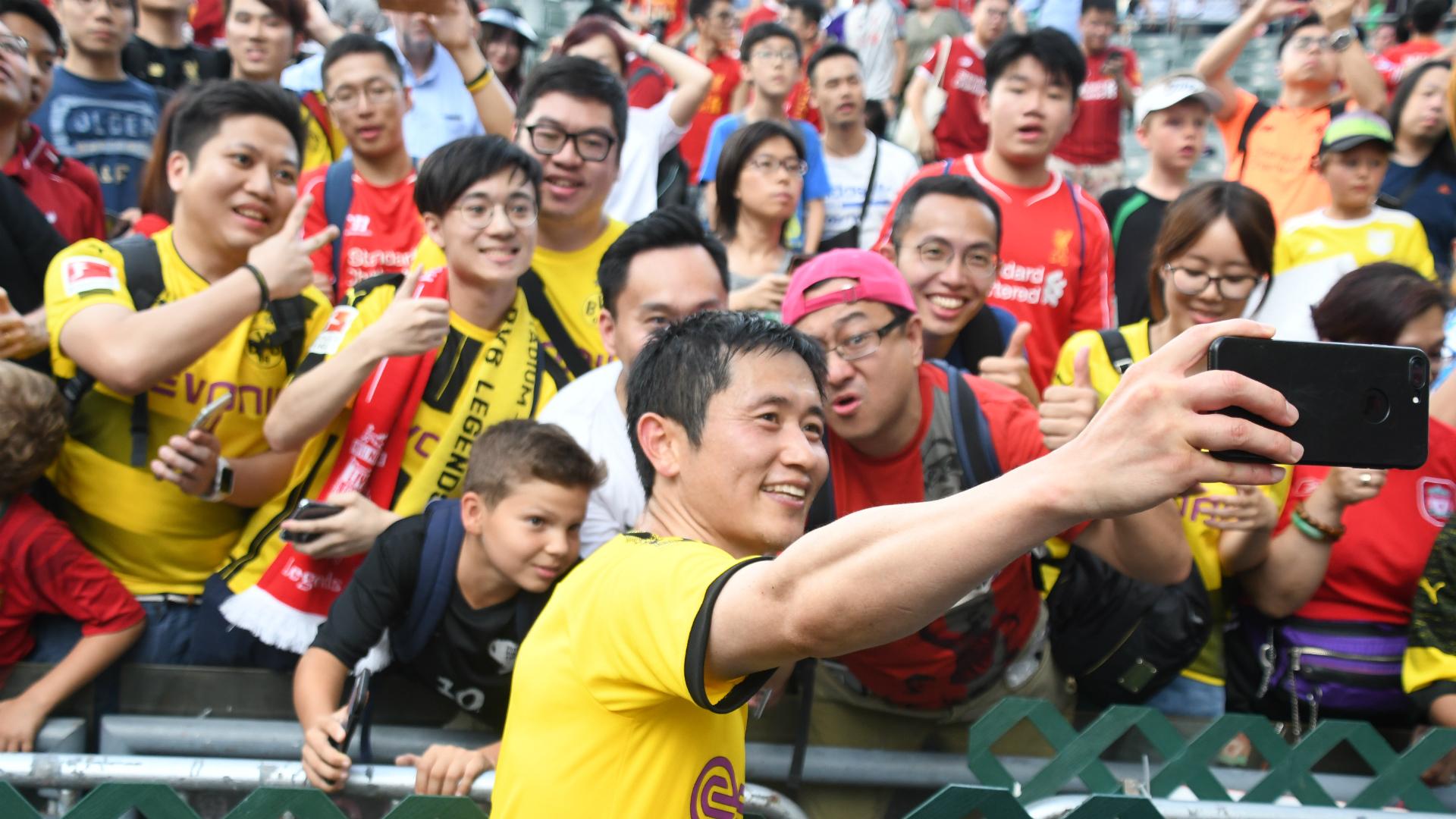 Lee Young-pyo, Liverpool legends v Dortmund legends, 10 Jun 2019