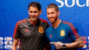 Fernando Hierro Sergio Ramos Spain