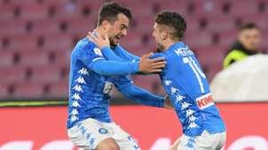 Amin Younes Dreis Mertens Napoli Serie A 2019