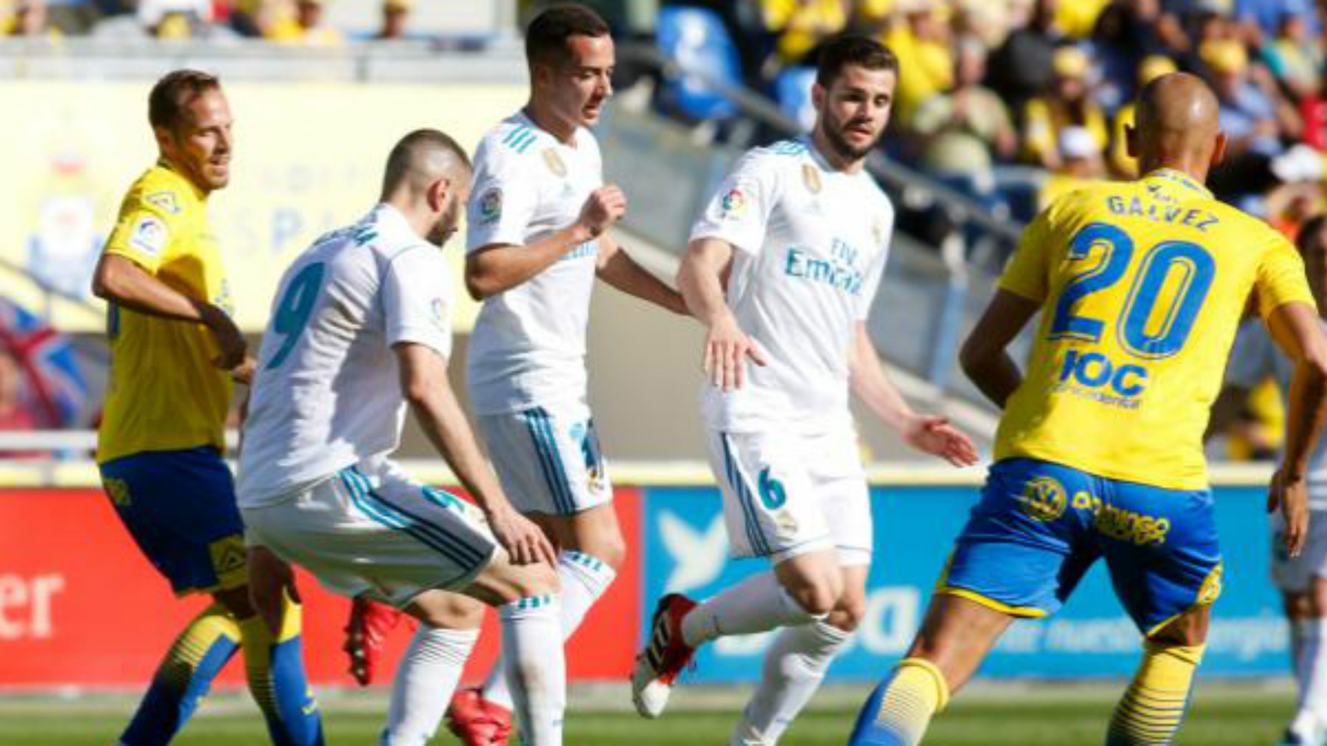 Nacho Las Palmas Real Madrid LaLiga
