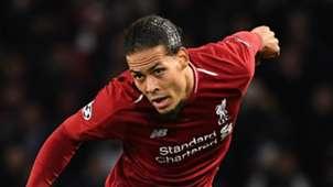Virgil van Dijk Liverpool 2018