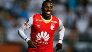 Johan Arango Santa Fe gol Copa Libertadores 2017