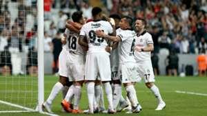 Besiktas goal celebration vs LASK Linz 08092018