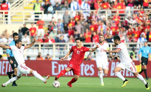 Công Phượng Việt Nam Iran Asian Cup 2019