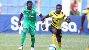 Lawrence Juma of Gor Mahia v Maurice Wandera of Chemelil Sugar.