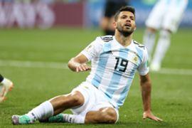 Sergio Aguero Argentina World Cup