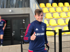 Schön Szabolcs Ajax Amszterdam U19